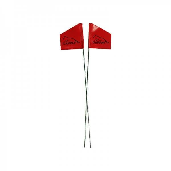 Fährtenabgang Flagge